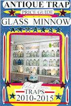 Antique Trap Price Guide - Glass Minnow Front Cover
